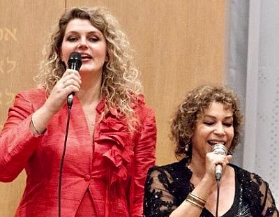 Dutch Jiddish Divas met tsulib Willy